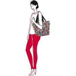 Torba na zakupy reisenthel shopper m happy flowers rzs7048