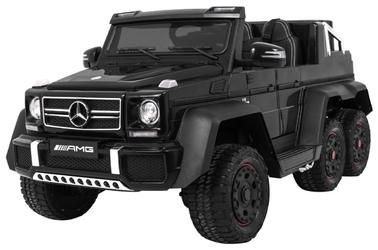 Mercedes g63 6x6 czarny - dwuosobowy samochód na akumulator do 110kg