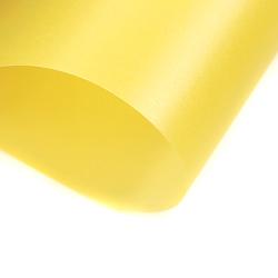 Papier transparentny gładki - żółty - ŻÓŁ