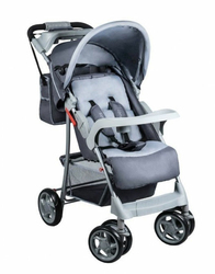 Lionelo Emma Plus Grey Wózek Składany na Płasko + Torba