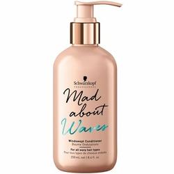 Schwarzkopf Mad About Waves Windswept odżywka dodająca tekstury włosom falowanym 250ml