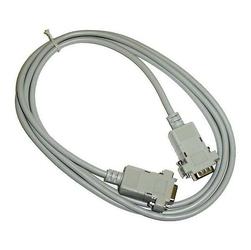 Kabel do transmisji danych sériový RS-232, 9 pin M- 9 pin F, 2m, przedłużacz, szary, Logo, blistr