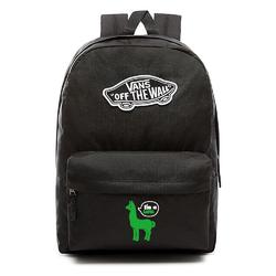 Plecak VANS Realm Backpack Custom Green lama - VN0A3UI6BLK - Green