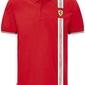Koszulka polo scuderia ferrari f1 italian flag czerwona - czerwony
