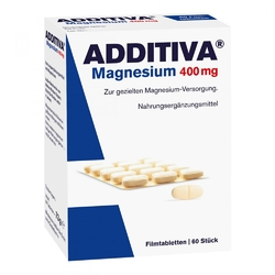 Additiva magnez 400 mg tabletki powlekane