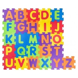 Puzzle podłogowe alfabet