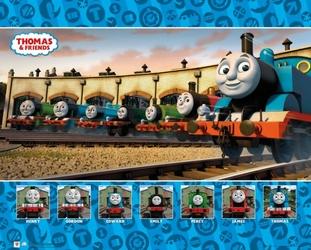 Tomek i przyjaciele - plakat