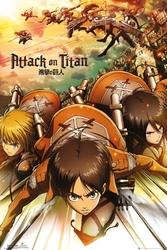 Attack on titan atak - plakat