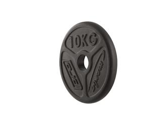 Obciążenie olimpijskie żeliwne 10kg mw-o10-oli - marbo sport - 10 kg