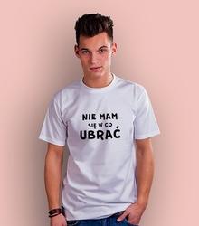 Nie mam się w co ubrać vodasodova t-shirt męski biały xxl