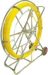 Włókno szklane do przeciągania kabli 8mm  150m pilot  stalka pe + stojak - szybka dostawa lub możliwość odbioru w 39 miastach