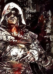 Legends of bedlam - edward kenway, assassins creed - plakat wymiar do wyboru: 70x100 cm