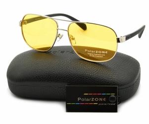 Rozjaśniające okulary do jazdy nocą dla kierowców polaryzacyjne polarzone pol-88y-1