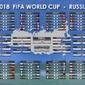 FIFA World Cup Russia 2018 - plakat w wresji angielskiej