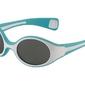 Niebiesko białe okularki przeciwsłoneczne s dla niemowląt