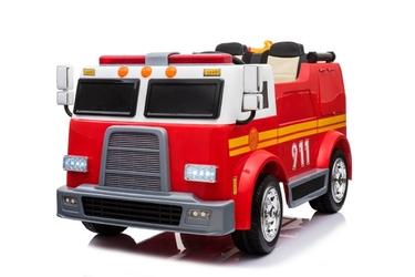 Dwuosobowa straż pożarna dla dzieci na akumulator + armatka wodna + megafon