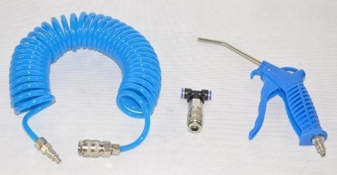 Pistolet do przedmuchiwania + wąż pneumatyczny 5m geko