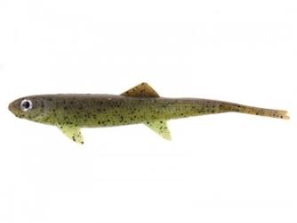 Guma dam effzett- split tail 90mm - rusty frog  sb8