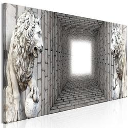 Obraz - światło w tunelu 1-częściowy wąski