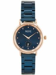 Damski zegarek PACIFIC 6010 zy597d - navyrosegold