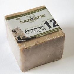 Tradycyjne mydło aleppo 200g - 12 oleju laurowego, 88 oliwy z oliwek saryane