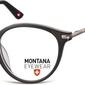 Okrągłe oprawki optyczne,lenonki korekcyjne montana ma63 czarne