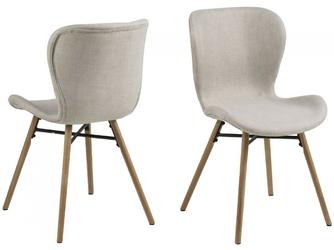 Krzesło bati skandynawskie beżowe