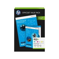 Zestaw HP 953XL Office Value Pack – 75 arkuszyA4210 × 297 mm