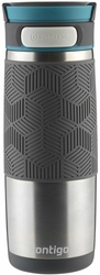 Kubek termiczny Contigo Transit 470ml - Srebrny - Srebrny