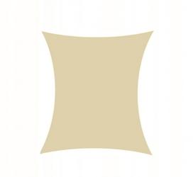 Żagiel przeciwsłoneczny daszek zacieniacz 3x2 beżowy