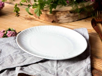 Rawier  półmisek owalny porcelana mariapaula natura 22 cm