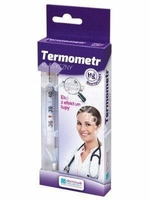 Termometr lekarski klasyczny x 1 sztuka