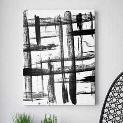 Modny obraz na płótnie - total abstraction , wymiary - 50cm x 70cm
