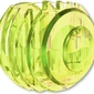 Świecznik ray neonowa zieleń