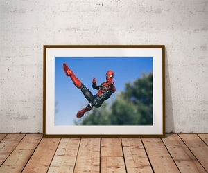 Iron spider-man ver3 - plakat