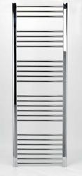 Grzejnik łazienkowy wetherby - elektryczny, wykończenie proste, 600x1500, chromowany