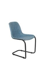 Zuiver krzesło thirsty niebieskie 1100420