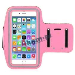 Armband opaska sportowa na ramię do iphone 6 140x70 - różowy