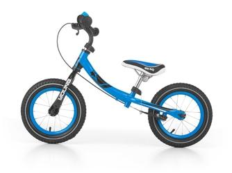 Milly mally young blue rowerek biegowy pompowane koła + prezent 3d