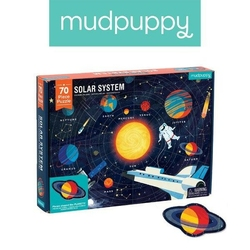 Puzzle mudpuppy - układ słoneczny 70 elem.