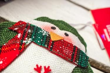 Zawieszka świąteczna dzianinowa mix wzorów