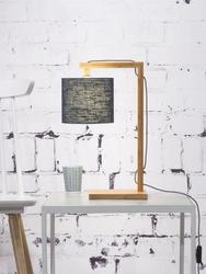 Goodmojo lampa stołowa himalaya, abażur ciemnoszary, rozmiar 18x15cm himalayat1815dg