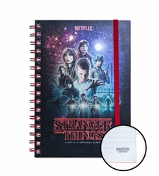 Stranger Things - notes A5