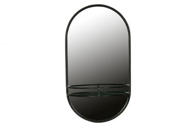 Be pure metalowe lustro make-up czarny 800010-z