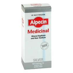 Alpecin Medicinal Silver tonik do włosów siwych