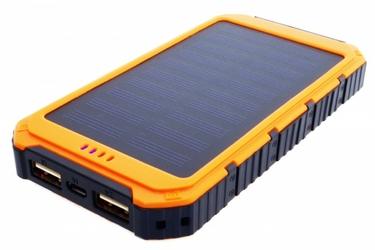 SUNEN Power bank 6000mAh z PV 0.8W PowerNeed pomarańczowy