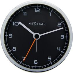 Budzik Company Alarm Nextime 9 cm, czarny 5194 ZW