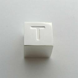 Litera T - kostka