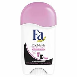 Fa, Invisible Sensitive, dezodorant w sztyfcie, 50 ml