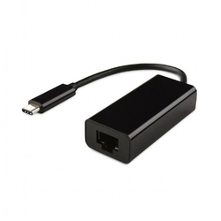 Gembird Adapter USB Typ-C do LAN Gigabit czarny